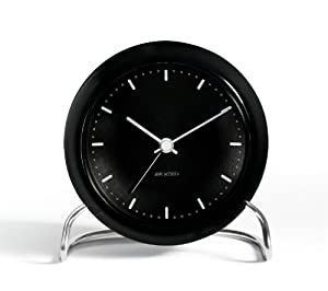 Arne Jacobsen Table Clock City Hall with Alarm