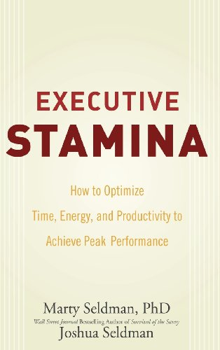 Executive Stamina: How to Optimize Time, Energy, and Productivity to Achieve Peak Performance