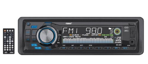 Naxa NX-683 Fold Down Full Detachable PLL Electronic Tuning Stereo AM/FM.MPX Radio MP3/CD Player