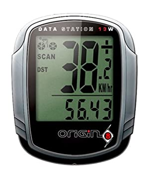 Origin8 Data Station 13W Wireless Cyclocomputer - Silver/Black at Sears.com