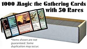 1000 Magic the Gathering Cards with 50 Rares (MTG) - All Magic: the Gathering Lots