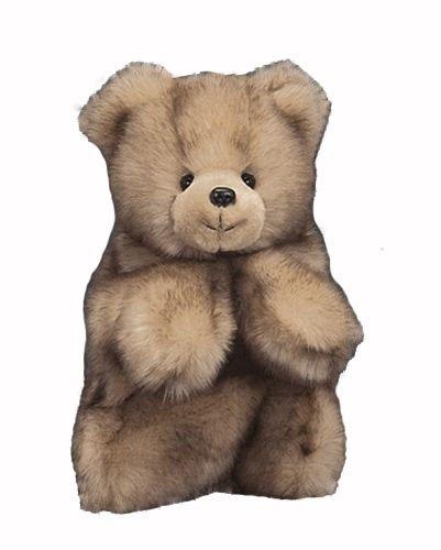 Lets Pretend Dakota- Baby Tan Bear Puppet - 1