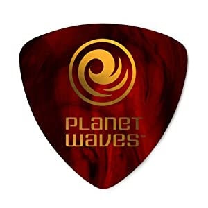 planet waves shell color celluloid guitar picks 10 pack extra heavy wide shape. Black Bedroom Furniture Sets. Home Design Ideas
