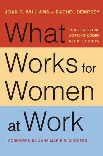 Image for publication on What Works for Women at Work: Four Patterns Working Women Need to Know