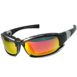 Polarlens P15 Sunglasses / German Engineered Sport Glasses / For Cyclists and Skiers / Lightweight Polycarbonate Frames with Impact Resistant Lense/ Introductory Pricing for the U.S. Market by Polarlens