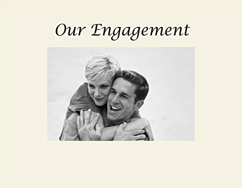 Infusion Gifts 3056-SO Our Engagement Engraved Photo Frame, Small, Oyster
