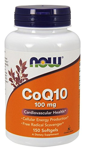 NOW Foods Coq10 100mg, 150 Softgels