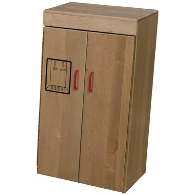 "Wood Designs WD10420 Child's Maple Refrigerator, 36 x 19.5 x 12"" (H x W x D)"
