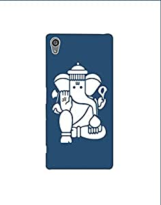 Sony Xperia Z5 Premium nkt-04 (49) Mobile Case by Mott2 - Om Ganesha White (Limited Time Offers,Please Check the Details Below)