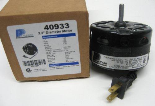 Packard 3 3 inch diameter vent fan motor direct for Broan nutone replacement fan motor kits