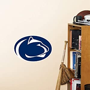 Buy NCAA FATHEAD Penn State Nittany Lions Team Logo Official Vinyl Wall Graphic by Fathead