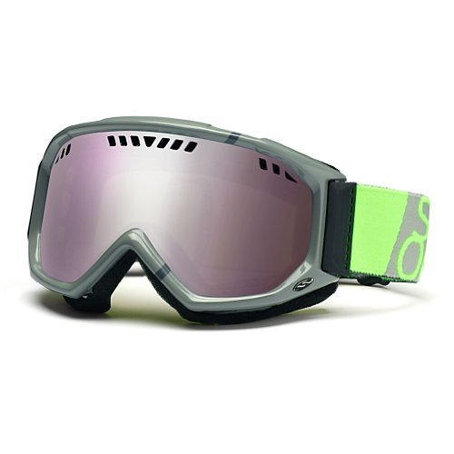 Smith Herren Skibrille Scope Graphic, charcoal dayglo team