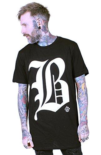 BKB - Maglietta sportiva -  uomo Black X-Large