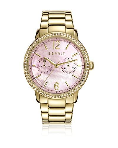 Esprit Reloj con movimiento japonés Woman Dorado 38 mm