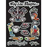 Troy Lee Designs Funpack Logo Sticker Sheet - 10