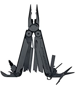 Leatherman Wave Multi-Tool with Cap Crimper and Oxide Finish - Black