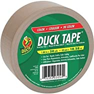 ShurTech Brands, LLC 1124160 Duck Tape Colored Duct Tape-BEIGE DUCK TAPE