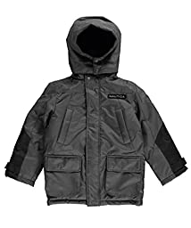 Nautica Big Boys\' Heavyweight Snorkel Coat, Grey, X-Large