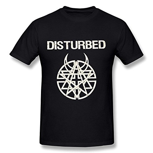 Disturbed 2016 Tour T Shirt For Men Black