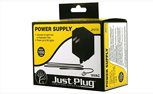 Woodland Scenics JP5770 Just Plug(TM) Lighting System, Power Supply
