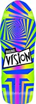 Vision Original Old School Reissue Gator Skateboard Deck, Rainbow