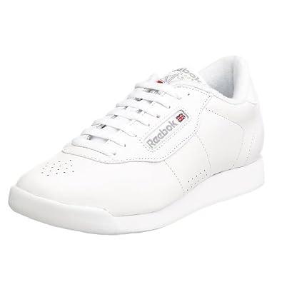 Reebok Women's Princess Sneaker,Black,7 W