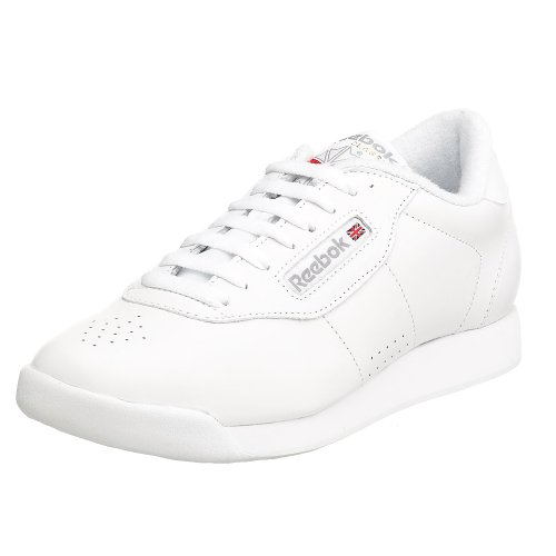 Reebok Women's Princess Aerobics Shoe,White, 7.5 M