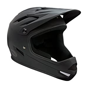 Bell Sanction Full Face Helmet (Matte Black, Large)