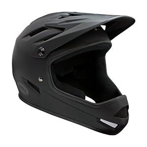 Bell Sanction Full Face Helmet (Matte Black, Large)