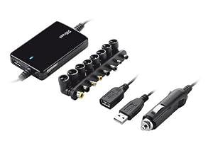 Trust Ultraslim Notebook Power Adapter (70 Watt) schwarz