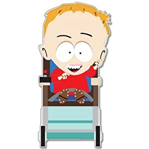 "Amazon.com: South Park Timmy vynil car sticker 3"" x 5"": Automotive"