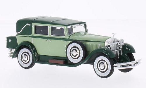 isotta-fraschini-tipo-8-hellgrun-dunkelgrun-1930-model-car-ready-made-whitebox-143