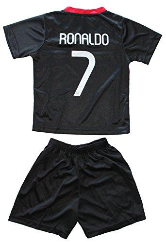2015 PORTUGAL BLACK AWAY CRISTIANO RONALDO 7 FOOTBALL SOCCER c4fd12318