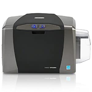 Amazon.com: Fargo DTC1250e Single Sided USB Card Printer with Supplies