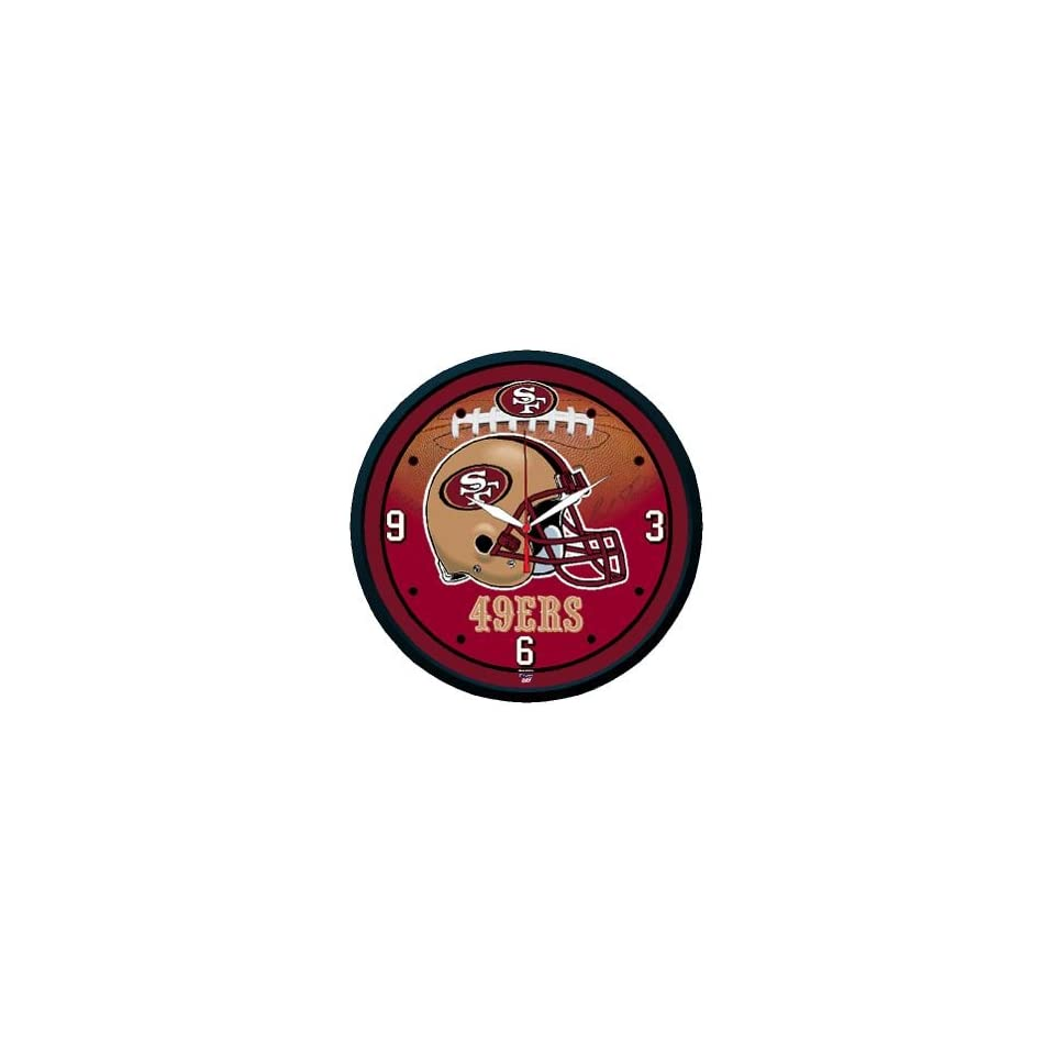 NFL San Francisco 49ers Team Logo Wall Clock *SALE*