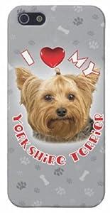 iLeesh iP50209 iLove My Yorkshire Terrier iPhone 5 Case