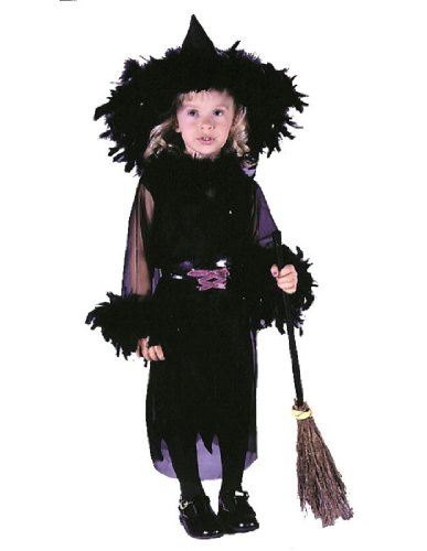 Fun World Baby-girls Feathery Witch Costume