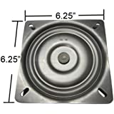"6.25"" Replacement Bar Stool Swivel Plate - Made in the USA - S4695"
