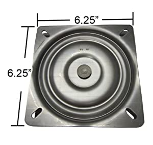 Amazon Com 6 25 Quot Replacement Bar Stool Swivel Plate