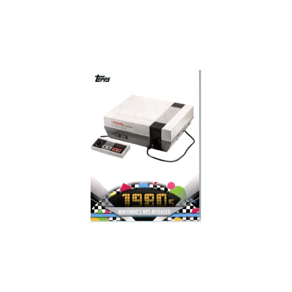 2011 Topps American Pie Card #152 Nintendos NES Released