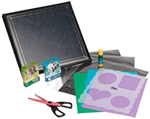 "Pioneer E-Z Load 12"" X 12"" Memory Book Kit, Hunter Green"