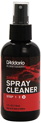D'Addario PW-PL-03 Spray Detergente per Chitarra Planet Waves Shine