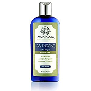Lotus Moon ABUNDANT Shampoo - 8 oz - ideal for all hair types especially dry and color-treated or processed