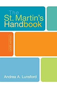 "Cover of ""The St. Martin's Handbook"""