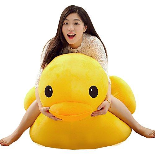"""Super Cute Rubber Duck Plush Toy Big Birthday Soft Doll 70Cm (27.6"""")"""
