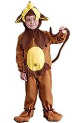 Toddler Monkey See Monkey Doo Costume (Size: 2-4T)