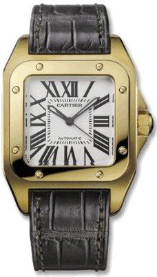 Cartier Santos 100 Ladies Watch W20112Y1