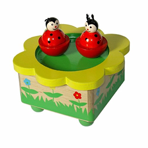 Adorable-Childrens-Music-Box-with-Two-Dancing-Lady-Bug-Figurines-Plays-Fur-Elise-by-Beethoven