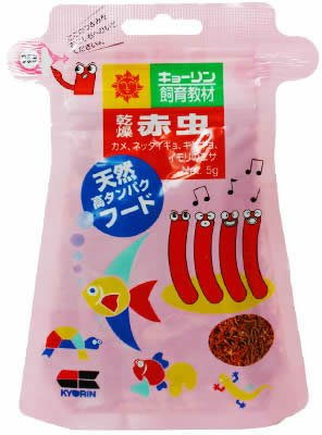 ヒカリ (Hikari) 乾燥 赤虫 5g