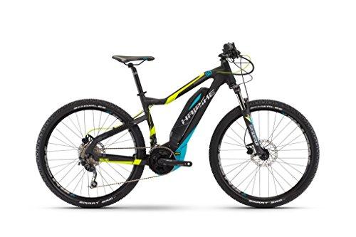 E-Bike Haibike SDURO HardNine 5.0 400Wh 20-G Deore 29' 17 HB YWC schwarz/lime/cyan